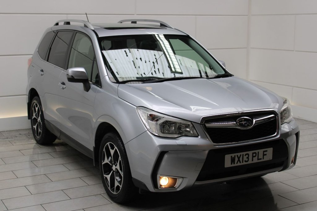 USED 2013 13 SUBARU FORESTER 2.0 Turbo XT Lineartronic Auto 4x4 [LEATHER][SAT NAV]