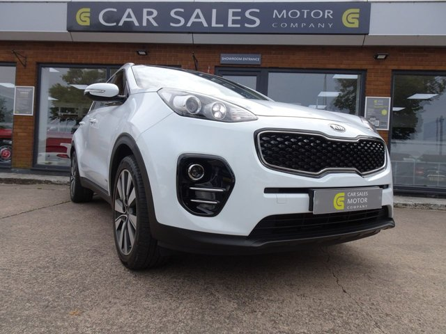 USED 2017 17 KIA SPORTAGE 2.0 CRDI KX-3 5d 134 BHP BEST COLOUR COMBO, 4 WHEEL DRIVE, PANORAMIC ROOF, SAT NAV, REVERSE PARKING CAMERA, FULL LEATHER, DAB RADIO, 5 STAR RATED DEALERSHIP