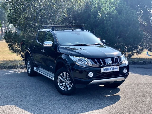 USED 2017 67 MITSUBISHI L200 2.4 DI-D 4WD WARRIOR DCB 178 BHP Leather | Sat Nav | Roof Rack