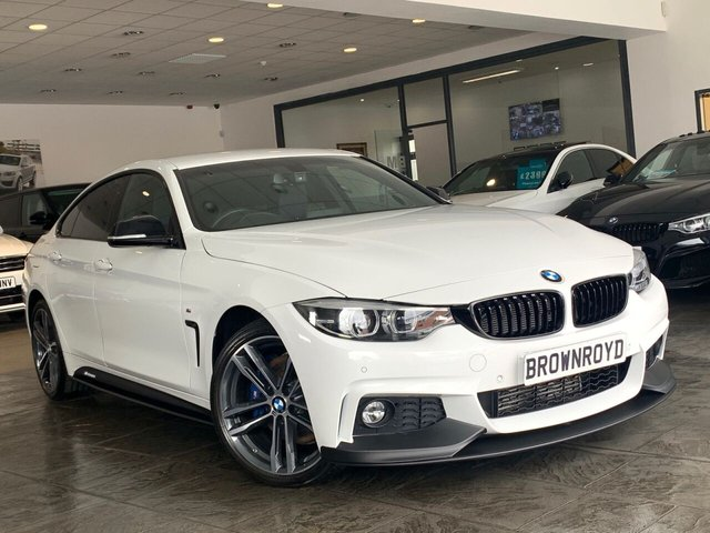 USED 2017 17 BMW 4 SERIES GRAN COUPE 2.0 420D XDRIVE M SPORT GRAN COUPE 4d 188 BHP BM PERFORMANCE STYLING+6.9%APR
