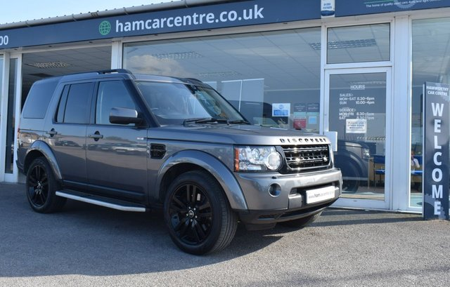 2013 63 LAND ROVER DISCOVERY 4 3.0 4 SDV6 HSE 5d 255 BHP BLACK PACK