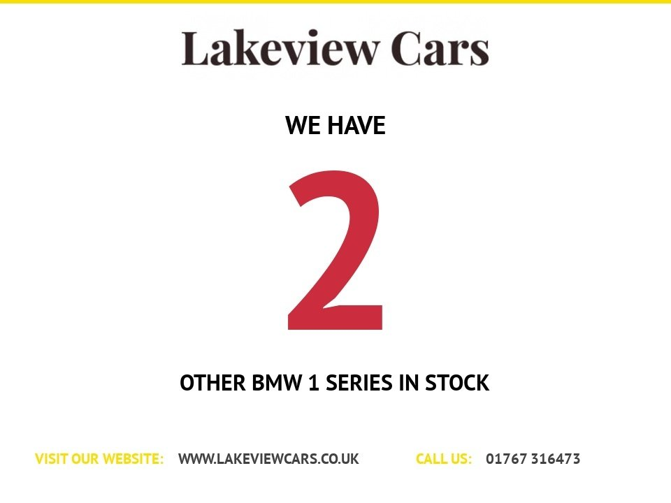 USED 2011 61 BMW 1 SERIES 2.0 116I PERFORMANCE EDITION 3d 121 BHP