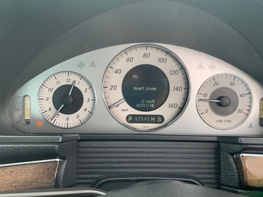 USED 2008 58 MERCEDES-BENZ E-CLASS 3.0 E320 CDI SPORT 4d 222 BHP