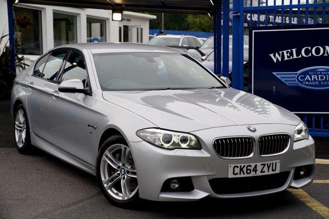 2014 64 BMW 5 SERIES 3.0 530D M SPORT 4d 255 BHP