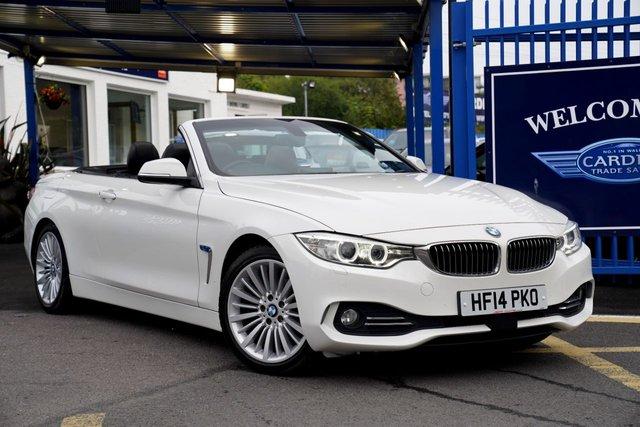 2014 14 BMW 4 SERIES 2.0 420D LUXURY 2d 181 BHP