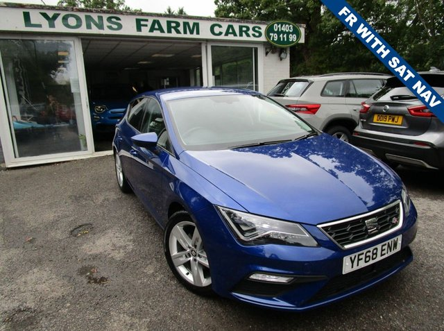 USED 2018 68 SEAT LEON 1.5 TSI EVO FR 5d 129 BHP Just Serviced, One Owner, Balance of Seat Warranty + MOT until January 2022