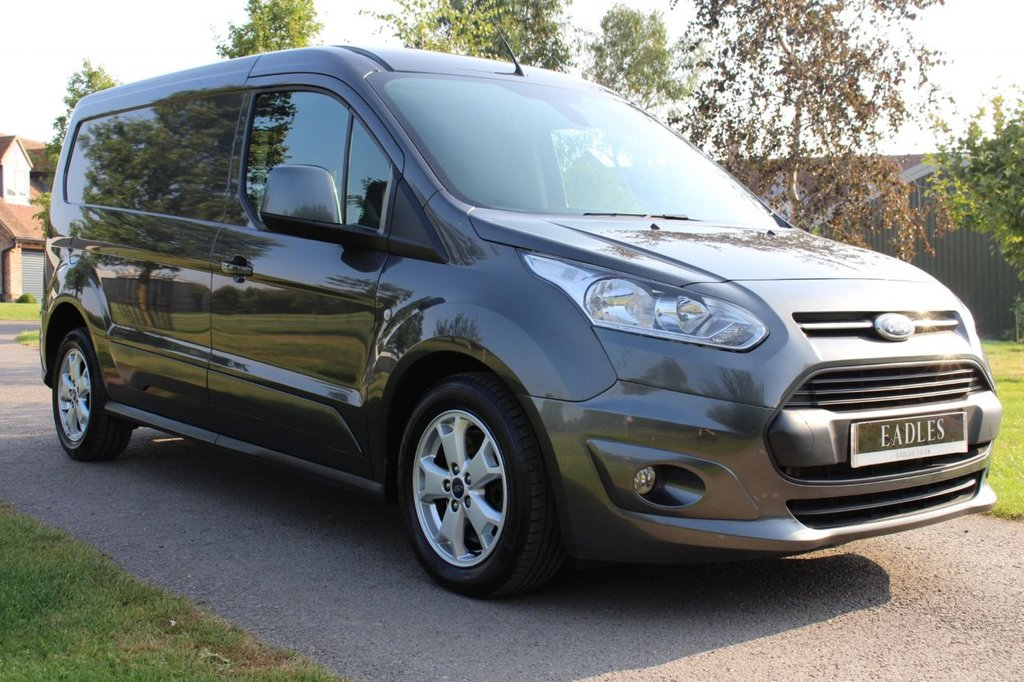 USED 2018 18 FORD TRANSIT CONNECT 1.5 240 LIMITED P/V 118 BHP LIMITED TOP SPEC DARK GREY NO VAT FULL HISTORY MANUFACTURE WARRANTY 2021