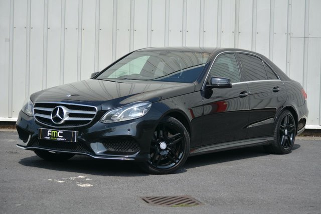 2013 13 MERCEDES-BENZ E-CLASS AMG Sport 2.1CDI 7G-Tronic Plus **Full Leather - Nav**