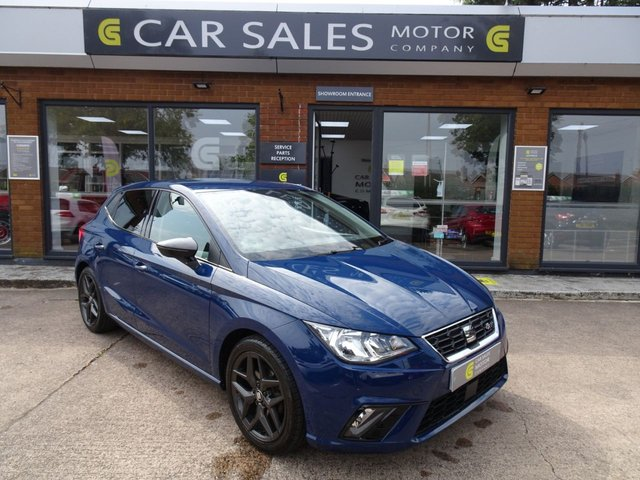 USED 2018 18 SEAT IBIZA 1.0 TSI FR 5d 114 BHP FULL SEAT HISTORY - 9 STAMPS, SAT NAV, DAB RADIO, BLACK STYLING PACK, BLUETOOTH, 1 OWNER, 5 STAR RATED DEALERSHIP