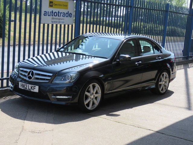 USED 2012 12 MERCEDES-BENZ C-CLASS 2.1 C200 CDI BLUEEFFICIENCY Sport 4dr 135 Sat nav prep Leather Cruise Bluetooth & audio Alloys Finance arranged Part exchange available Open 7 days