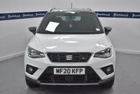 USED 2020 20 SEAT ARONA 1.0 TSI FR 5d 115 BHP (APPLE PLAY -LOW MILES -1 OWNER)