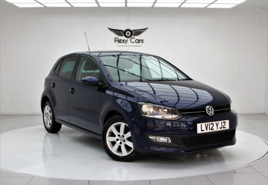 USED 2012 12 VOLKSWAGEN POLO 1.4 MATCH DSG 5d 83 BHP