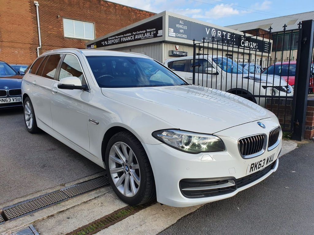 USED 2013 63 BMW 5 SERIES 2.0 520D SE TOURING 5d 181 BHP FULL BMW HISTORY + GREAT SPEC