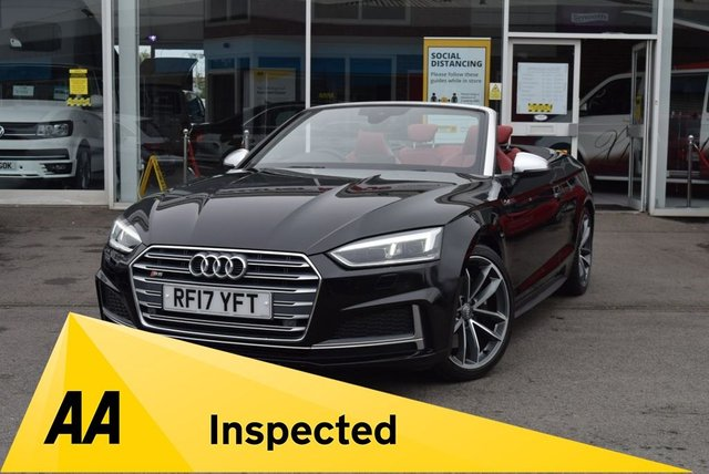 USED 2017 17 AUDI S5 3.0 S5 TFSI QUATTRO 2d 349 BHP FINANCE TODAY WITH NO DEPOSIT - SERVICED ON ARRIVAL