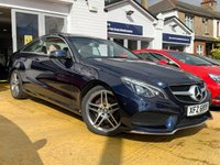 USED 2015 MERCEDES-BENZ E-CLASS 2.1 E220 BLUETEC AMG LINE 2d 174 BHP COMES WITH 6 MONTHS WARRANTY