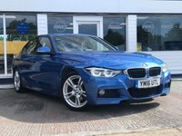 USED 2016 16 BMW 3 SERIES 2.0 330E M SPORT 4d 181 BHP AVAILABLE FOR ONLY £275 PER MONTH WITH £0 DEPOSIT