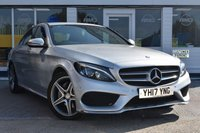 USED 2017 17 MERCEDES-BENZ C-CLASS 2.1 C220 D AMG LINE 4d 170 BHP AVAILABLE FOR ONLY £380 PER MONTH WITH £0 DEPOSIT