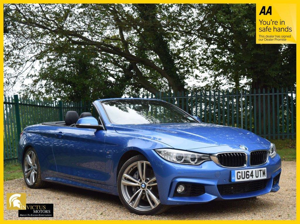 USED 2014 64 BMW 4 SERIES 3.0 435I M SPORT 2d 302 BHP