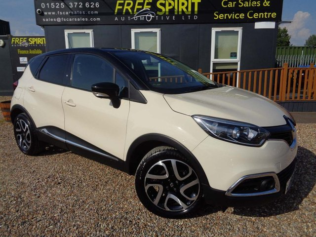 USED 2016 66 RENAULT CAPTUR 1.5 dCi ENERGY Dynamique S Nav (s/s) 5dr 1 Owner, Nav, DAB, Phone