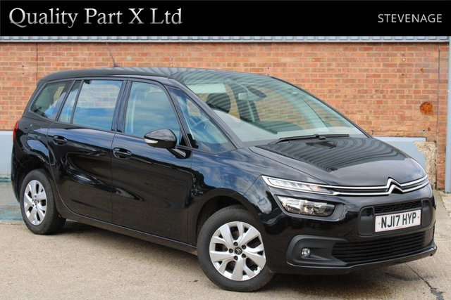 USED 2017 17 CITROEN C4 GRAND PICASSO 1.6 BlueHDi Touch Edition (s/s) 5dr 7 SEAT, BLUETOOTH,SENSORS,AUX