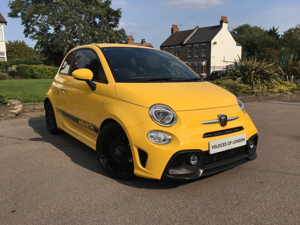 USED 2018 18 ABARTH 595 1.4 595 3d 144 BHP £2000 OF FACTORY EXTRAS