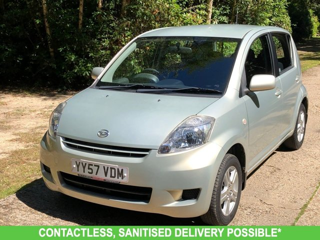 USED 2007 57 DAIHATSU SIRION 1.3 SE 5d 85 BHP AUTOMATIC VERY LOW MILEAGE FINANCE ME TODAY-UK DELIVERY POSSIBLE