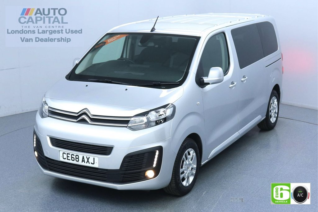 USED 2018 68 CITROEN SPACETOURER 1.5 BlueHdi Business MWB 120 BHP 9 Seats Minibus Low Emission Finance Available Online | 9 Seats | Air Con| Rear Sensors