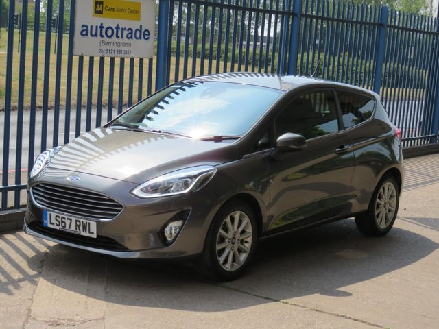 USED 2017 67 FORD FIESTA 1.0 TITANIUM 3d 99 BHP SAT NAV, APPLE/ANDROID CAR PLAY, CRUISE 1 OWNER, HISTORY, ULEZ COMPLIANT 1 OWNER SAT NAV, APPLE CAR PLAY ANDROID AUTO, CLIMATE CONTROL, CRUISE CONTROL, DAB RADIO, BLUETOOTH WITH USB,