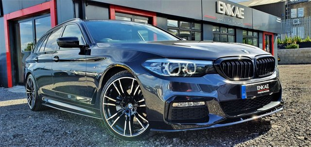 2017 67 BMW 5 SERIES 2.0 520D M SPORT TOURING 5d 188 BHP