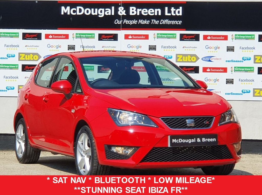 USED 2017 17 SEAT IBIZA 1.2 TSI FR TECHNOLOGY 5d 109 BHP