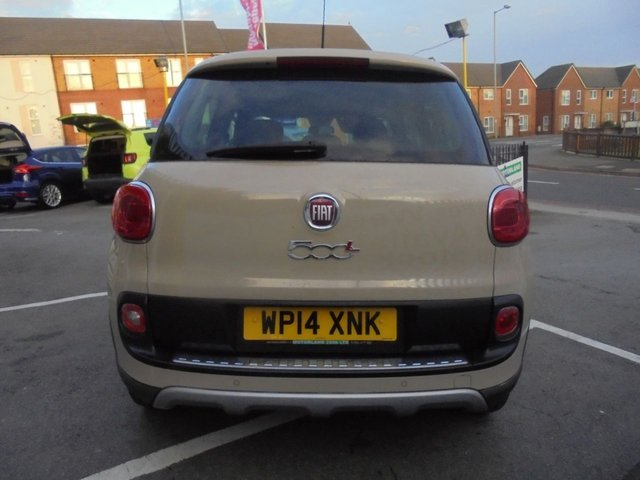 USED 2014 14 FIAT 500L 1.2 MULTIJET TREKKING 5d 85 BHP CLICK AND COLLECT ON YOUR NEXT CAR