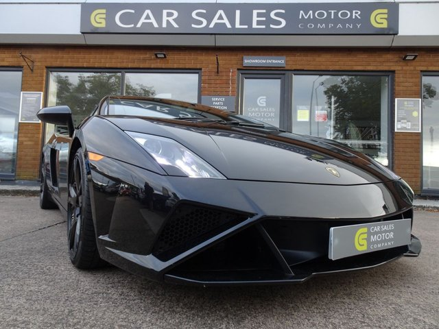 USED 2013 13 LAMBORGHINI GALLARDO 5.2 LP 560-4 COUPE 50th Anniversary Edition 560 BHP RARE 50TH ANNIVERSARY EDITION, SAT NAV, REAR CAMERA, FRONT LIFT SYSTEM, 19 INCH CALLISTO ALLOYS FINISHED IN GLOSS BLACK, ORANGE BRAKE CALIPERS, NERO PERSEUS Q-CITURA LEATHER WITH ARANCIO LEONIS ORANGE STITCHING DETAIL,ONLY 20K WARRANTED MILES, FULL LAMBORGHINI SERVICE HISTORY, 6 SERVICES ON RECORD WITH IT JUST BEING SERVICED AT LAMBORGHINI BIRMINGHAM, HPI CLEAR, 2 REMOTE KEYS