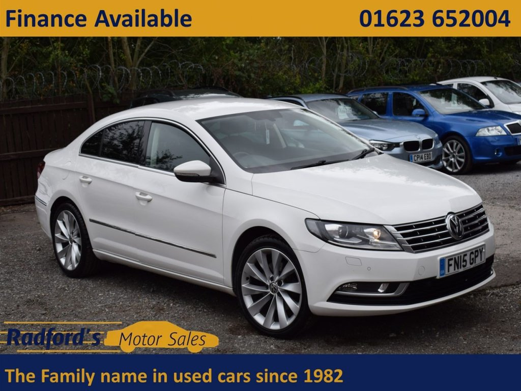 USED 2015 15 VOLKSWAGEN CC 2.0 GT TDI BLUEMOTION TECHNOLOGY DSG 4d 138 BHP