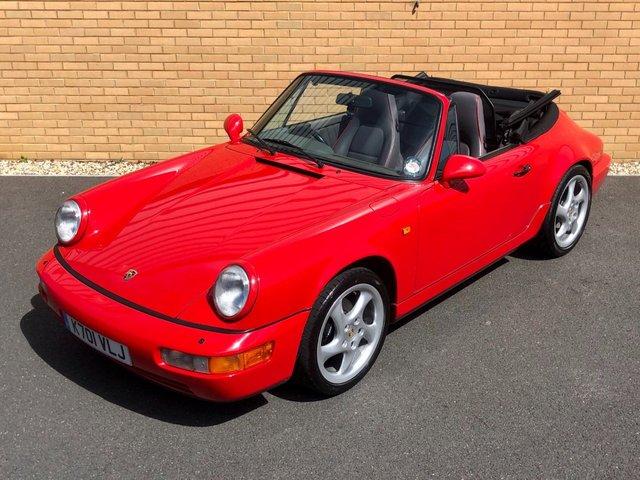1993 K PORSCHE 911 964 // 3.6L CARRERA 2 // CABRIOLET // 250 BHP // PX SWAP
