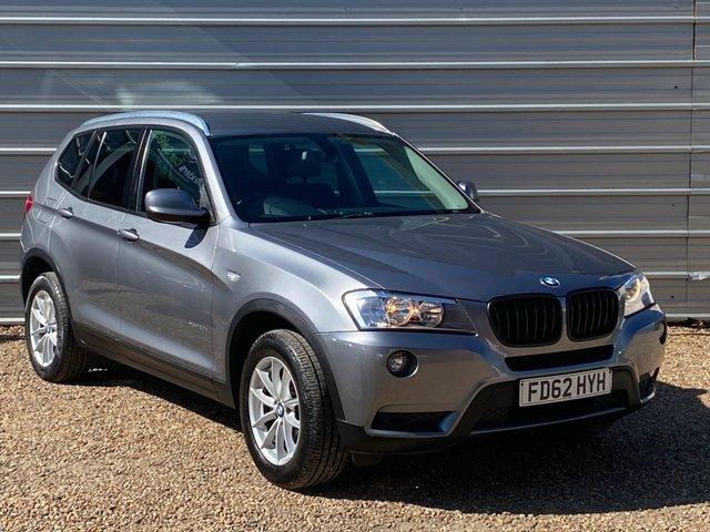 USED 2012 62 BMW X3 2.0 XDRIVE20D SE 5d 181 BHP 8 Speed Auto+ Nav+Park Sensors