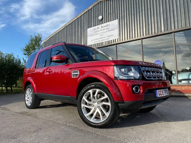 USED 2015 15 LAND ROVER DISCOVERY 3.0 SDV6 HSE 5d 255 BHP Satellite Navigation, 7 Seats, Heated Front Seats, Reversing Camera