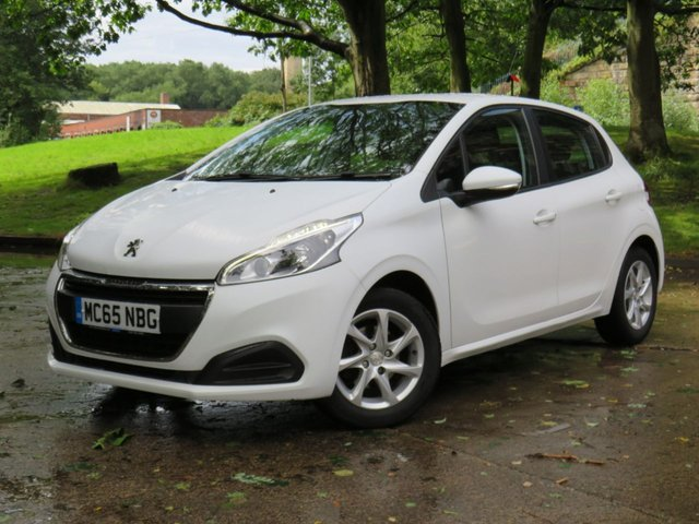 USED 2016 65 PEUGEOT 208 1.2 ACTIVE 5d 82 BHP