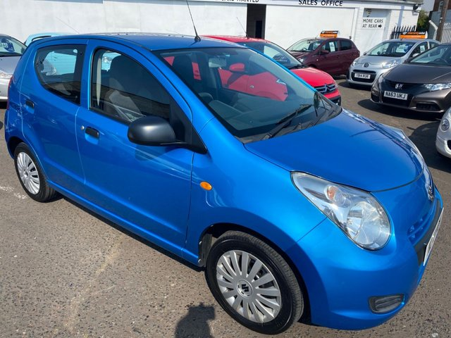 USED 2013 13 SUZUKI ALTO 1.0 SZ 5d 68 BHP VERY CHEAP CAR WITH LOW MILEAGE