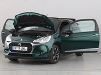 USED 2017 17 DS DS 3 1.6 BLUEHDI ELEGANCE S/S 3d 98 BHP 1 OWNER | PART LTHR | ALLOYS |