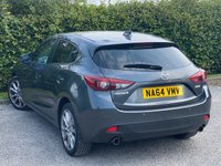 USED 2014 64 MAZDA 3 2.0 SPORT NAV 5d 118 BHP * LOW MILEAGE * 12 MONTHS AA BREAKDOWN COVER * 128 POINT AA INSPECTED *