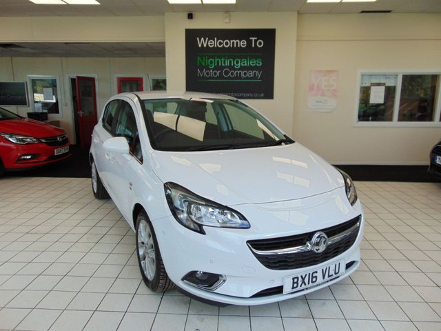 USED 2016 16 VAUXHALL CORSA 1.4 SE 5d 89 BHP  AUTOMATIC VAUXHALL CORSA 1.4 SE AUTO 5 DOOR AUTOMATIC 5 DOOR COMES WITH SERVICE HISTORY + JULY 2021 MOT + ONLY 10000  MILES + HALF LEATHER TRIM + HEATED FRONT SEATS + AIR CONDITIONING + CRUISE CONTROL  + BLUETOOTH + ABS + DAB RADIO + ALLOY WHEELS + REMOTE CENTRAL LOCKING + ELECTRIC WINDOWS + SPARE WHEEL + HEATED WINDSCREEN + MULTI FUNCTION TRIP COMPUTER + CRUISE CONTROL + FRONT AND REAR PARKING SENSORS + ISOFIX + HALOGEN HEADLIGHTS + DAYTIME RUNNING LIGHTS