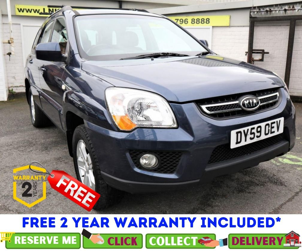USED 2009 59 KIA SPORTAGE 2.0 XS CRDI 5d 138 BHP *CLICK & COLLECT OR DELIVERY