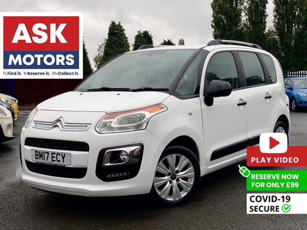 USED 2017 17 CITROEN C3 PICASSO 1.6 BLUEHDI EDITION PICASSO 5d 98 BHP 1 REG KEP SPARE KEY