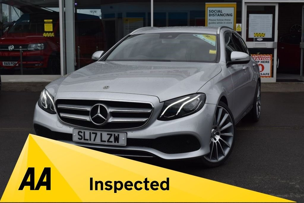 USED 2017 17 MERCEDES-BENZ E-CLASS 2.0 E 220 D SE 5d 192 BHP FINANCE TODAY WITH NO DEPOSIT - SERVICE HISTORY