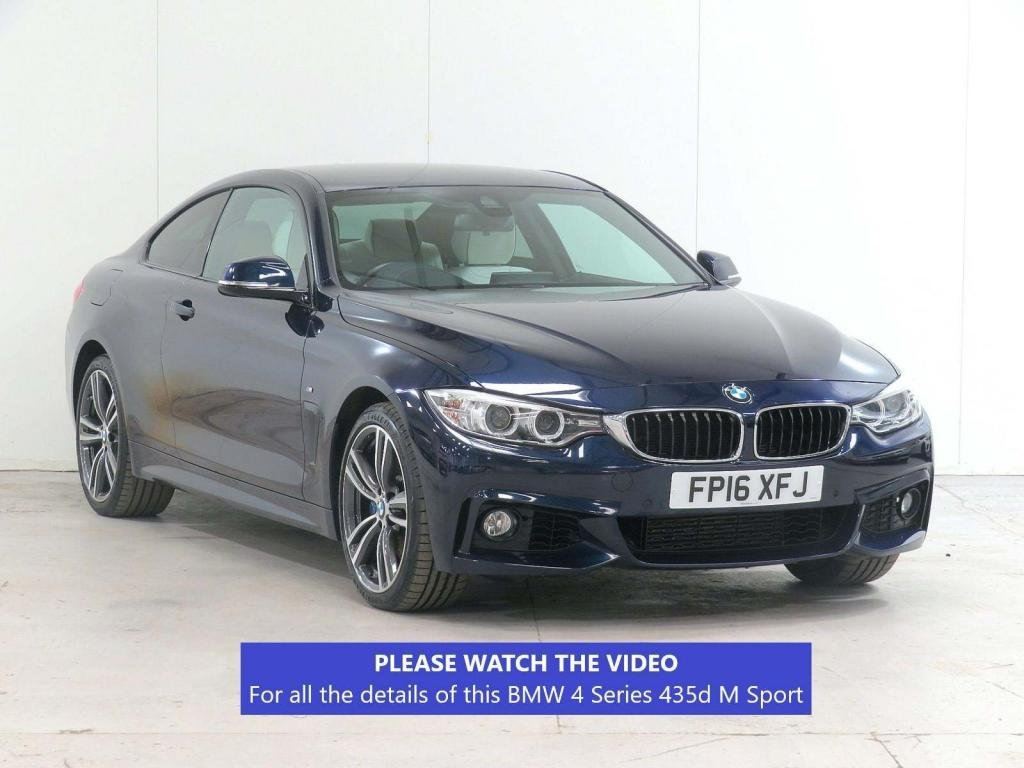 USED 2016 16 BMW 4 SERIES 3.0 435d M Sport xDrive 2dr £6,650 EXTRA*MERINO*PLUS*VAT-Q