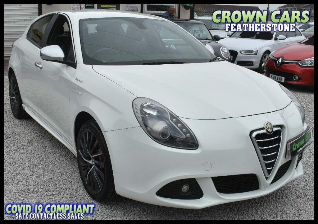 USED 2013 63 ALFA ROMEO GIULIETTA 1.4 TB MultiAir Sportiva 5dr BEAUTIFUL LOW MILEAGE EXAMPLE