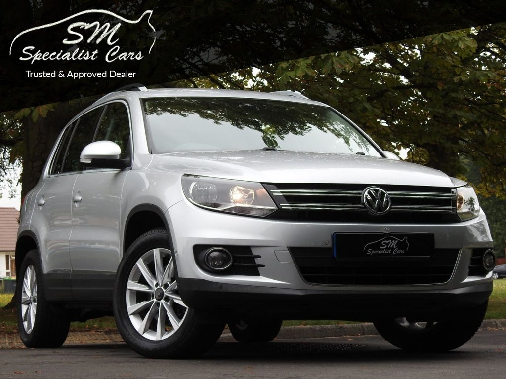 USED 2013 13 VOLKSWAGEN TIGUAN 2.0 SE TDI BLUEMOTION TECHNOLOGY 4MOTION DSG 5d 138 BHP ONLY 29K FROM NEW A/C VGC