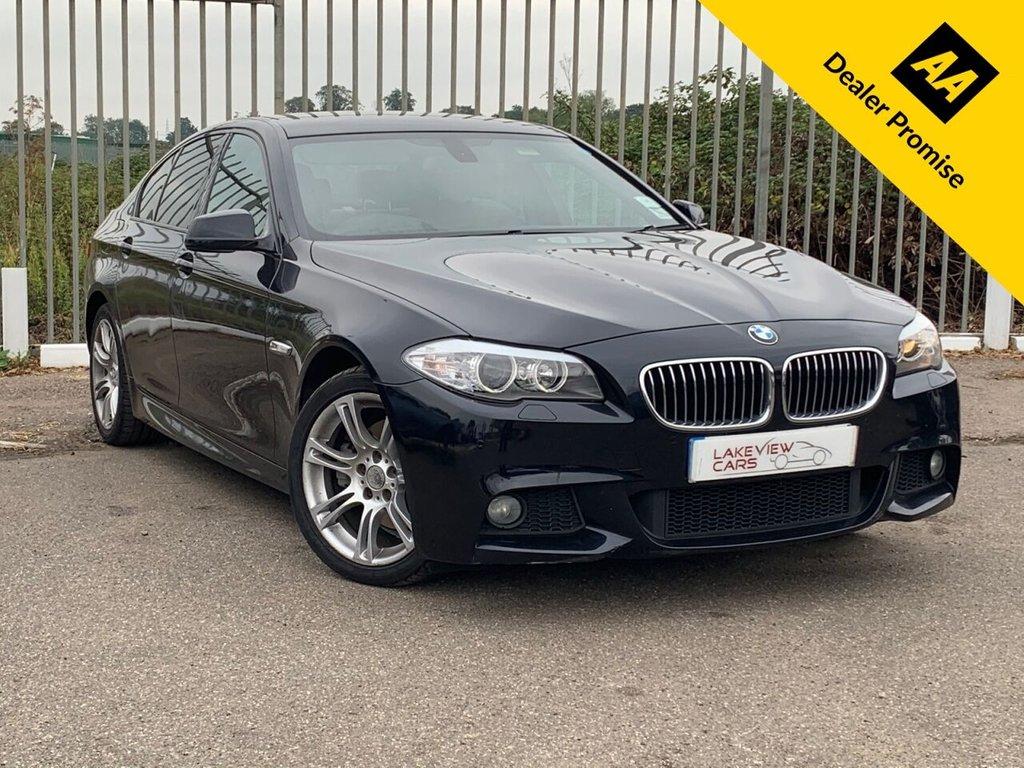 USED 2011 11 BMW 5 SERIES 2.0 520D M SPORT 4d 181 BHP
