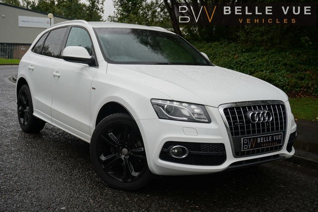 "USED 2011 61 AUDI Q5 2.0 TDI QUATTRO S LINE SPECIAL EDITION 5d 170 BHP *PARKING SENSORS, 20"" ALLOYS, FULL LEATHER, CLIMATE CONTROL!*"