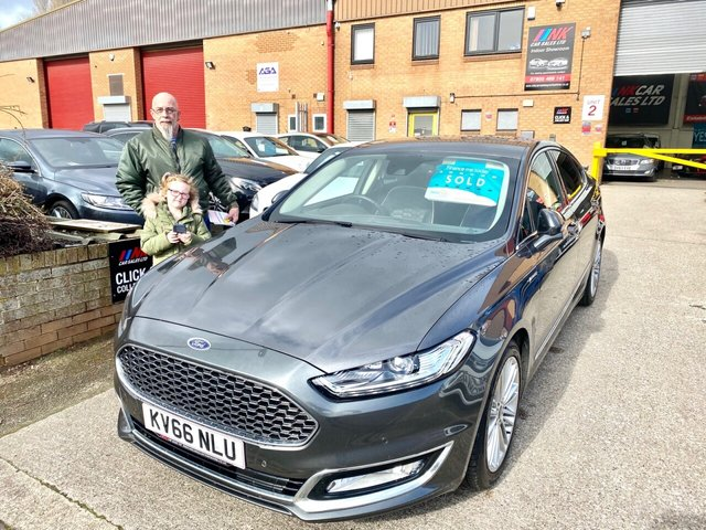 2016 66 FORD MONDEO 2.0 VIGNALE TDCI 4d 177 BHP FLAGSHIP MODEL  SOLD TO DAVID  FROM BARNSLEY